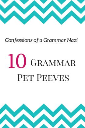 Confessions of a Grammar Nazi